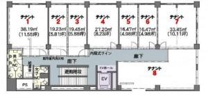マルホビル5階-平面図